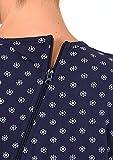 Damen Pflegeoverall langarm mit Reissverschluss am Rücken und am Bein 58439, Größe:M;Farbe:navy