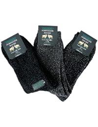 6 Paar Herren Norweger Socken - Naturwarm (70573)