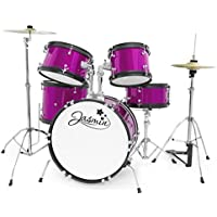 Tiger 5 Piece Junior Drum Kit (Jasmine Pink)
