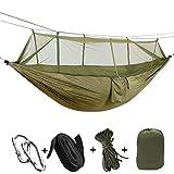 Hamac Parachute ultraléger, hamac de Camping de Voyage, lit en Filet de pêche,...