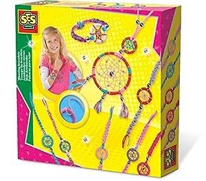 SES Creative Joyería atrapasueños SES - Kits de joyería para niños (Juego de joyería, 6 año(s), Colores Surtidos, Niño, Chica, Países Bajos)