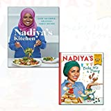 nadiya hussain nadiya's kitchen[hardcover] 2 books collection set - (nadiya's bake me a story: world book day 2018)