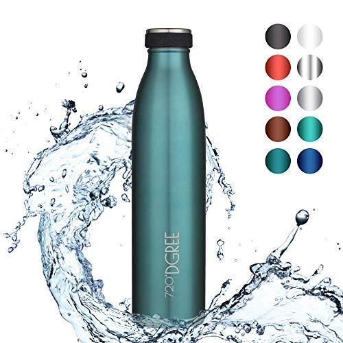 "Borraccia Acqua Termica ""milkyBottle"" - 750 ml, Blu, Blue   Bottiglia Acciaio..."
