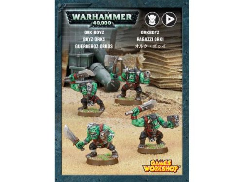 Games Workshop 99120103015 Warhammer 101.600 cm Ork Boyz Action Figur