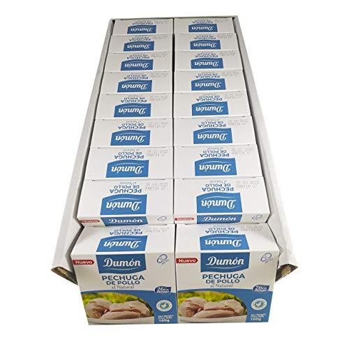 Dumón - Schachtel mit 18 Einheiten, Hähnchenbrust im Naturell 160g.