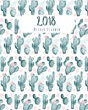 #7: 2018 Weekly Planner: A Year Calendar Schedule Organizer Appointment Journal Notebook, to Do List,365 Daily Planner, to Do List (Cactus): Volume 5 (weekly planner calendar 2018)