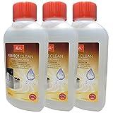 3er Pack Melitta Perfect Clean Milchsystem-Reiniger 1500729