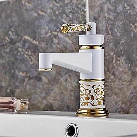 WP- Europeo - stile rubinetto del bacino del rubinetto di ceramica rubinetto caldo e freddo..