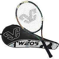 YFDD Raqueta de Tenis Solo Conjunto de la Raqueta, la Raqueta de Tenis for Adultos con Tapa Hombres Mujeres Artículos Deportivos Verde aijia