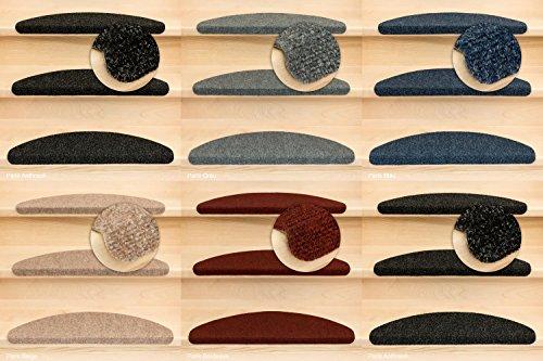 Kettelservice-Metzker Stufenmatten Ramon Halbrund Anthrazit 20 Stück