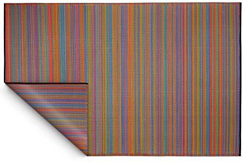 Fabhabitat Tapis intérieur extérieur Cancun Multicolore 270 x 180 cm