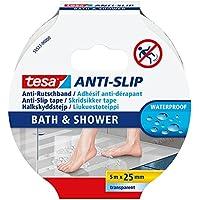 Cinta Tesa® Antideslizante baño y ducha, transparente