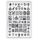 Best Kleancolor gel nail polish - Tonsee® Christmas Pattern DIY Nail Art Image Stamp Review