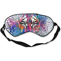 Sleep Eye Mask Abstract Tiger Lightweight Soft Blindfold Adjustable Head Strap Eyeshade Travel Eyepatch preisvergleich bei billige-tabletten.eu