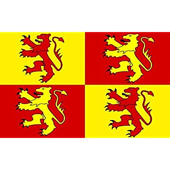 3ft x 2ft Small Owain Glyndwr Flag 3ft Metal Eyelets