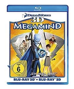 BD * Megamind 3D + 2D [Blu-ray] [Import allemand]