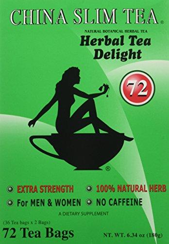 China Slim Tea Super Ginseng Plus Extra Strength For Men and Women 72 Tea Bags