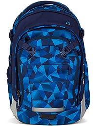Satch Schulrucksack Match Blue Crush 9A2 blau polygon