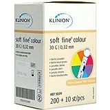 Klinion Soft Fine Colour Lanzetten 30 G, 210 St
