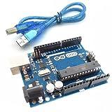 #5: Arduino Uno R3 ATmega328 ATMEGA16U2 Compatible with USB Cable
