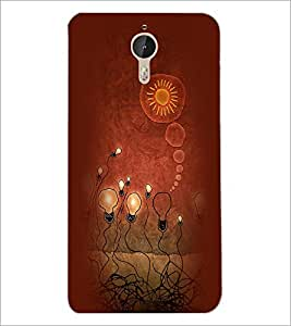 PrintDhaba Painting D-3957 Back Case Cover for LETV (LE ECO) LE 1 PRO (Multi-Coloured)