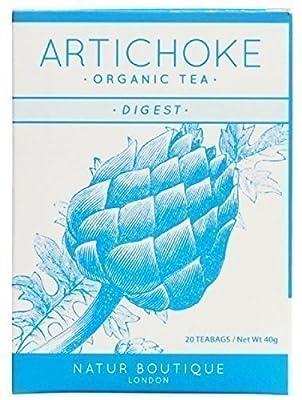 Natur Boutique Organic Artichoke Tea 20 sachet by Natur Boutique