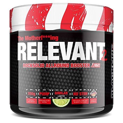 #sinob The Relevant V2 - NEW VERSION Pre-Workout Booster Trainingsbooster Bodybuilding 1 x 350 g (Limette)