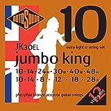 Rotosound Jeu de 12 cordes pour guitare acoustique 11-11, 14-14, 24-10, 30-12, 38-20, 52-26 (Bronze phosphoreux/extra light)