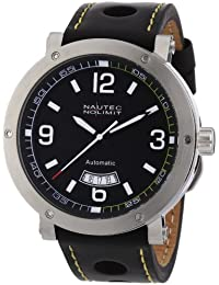 Nautec No Limit Herren-Armbanduhr Shamal SM AT/LTSTBK-YL
