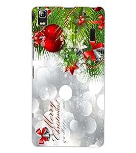 ColourCraft Christmas Design Back Case Cover for LENOVO A7000 TURBO