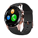 FENGSHI Smartwatch Waterproof with Magnetic Wireless Support SIM Card NFC Charging IPS Round Touch Gesture Control Wrist Watch Heart Rate Monitor