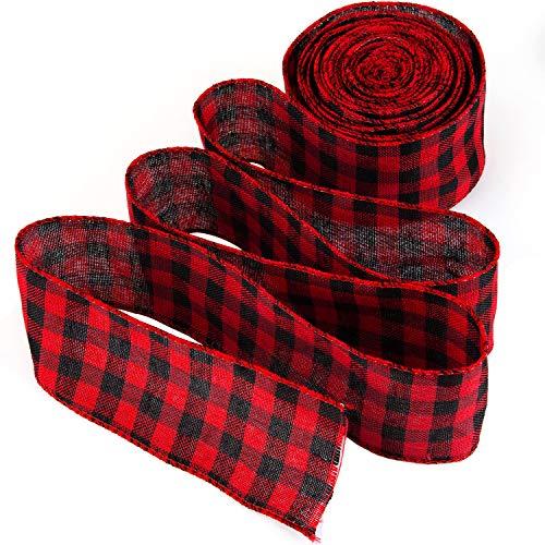 LUTER Cinta Rojo y Negro - Cinta Navidad Roja