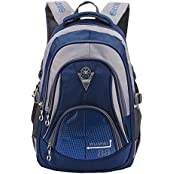 Leefrei Schulrucksack Schulranzen Schultasche Sports Rucksack Freizeitrucksack Daypacks Backpack für Mädchen Jungen & Kinder Damen Herren Jugendliche mit der Großen Kapazität