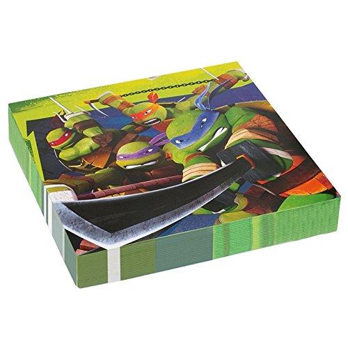 amscan Teenage Mutant Ninja Turtles Serviettes en Papier, 552467