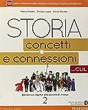 Storia. Concetti e connessioni. Con CLIL. Per le Scuole superiori. Con e-book. Con espansione online: 2