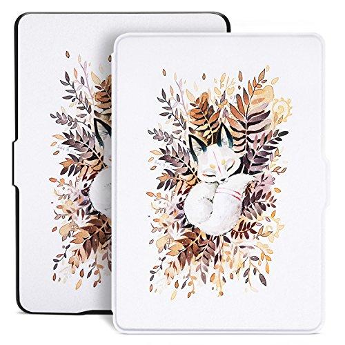 Ayotu Hülle für Kindle Paperwhite--Case Cover Mit Auto Sleep/Wake für Amazon alle neue Kindle Paperwhite 2012/2013/2016/2015 3.Generation(6 Zoll Display und Einbauleuchte) K509-02