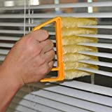 Generic Yellow : 2016 New Arrival Vertical Window Blinds Brush Cleaner Mini 7