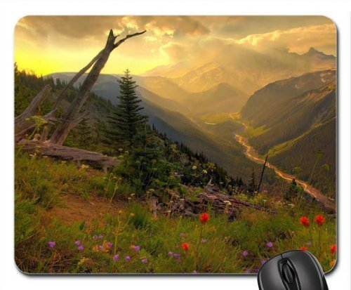 Mount Rainier National Park Mauspad, Mousepad (Gebirge Maus Pad)