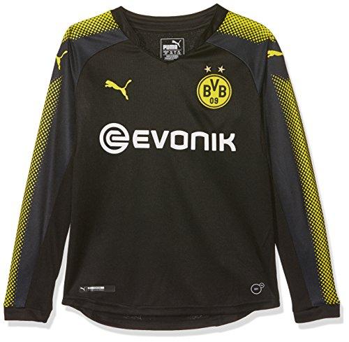 ed8ad26500 Puma BVB Kids LS Away Replica Shirt with Sponsor Logo – Camiseta