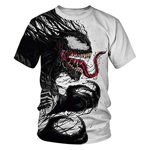 Leezeshaw - Camiseta - para Hombre Venom 2 M