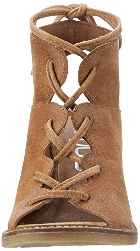 Mjus 848003-0201, Sandales  Bout ouvert femme Braun (Biscotto)