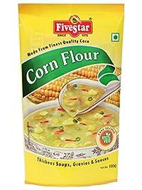 Corn Flour 100g Pouch Pack of 5