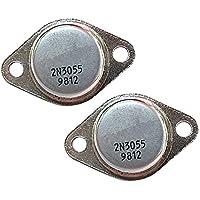 MagiDeal 2 Transistor De Las PC 2N3055 NPN 100V 15A 110 W