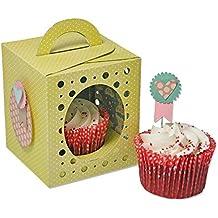 Fustella 19 fustelle Big shot plus pro box bomboniera cupcake 660842 cut emboss stencil carta cartoncino Ellison