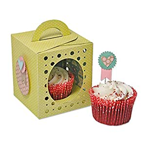 Sizzix 660842 Thinlits Plus Die Boîte Cupcake Set de 19