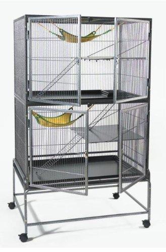 WorldStores–Explorer-Jaula–Escalera-de-plataforma-hammock-para-ratas-Salamandra-Chinchilla