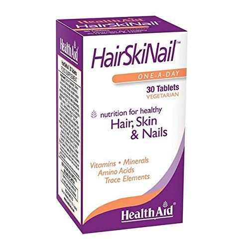 HealthAid Hair, Skin & Nail Formula  - 30 Vegetarian Tablets