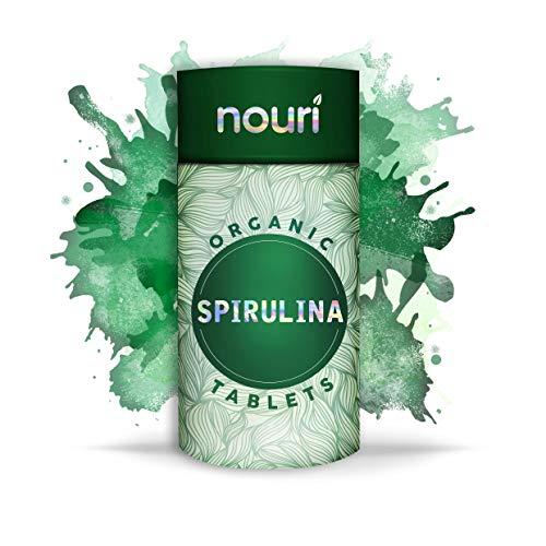 Bio Spirulina Presslinge in Premiumqualität, 1000 x 500mg | zertifizierte Bio Qualität | natürliches & veganes Protein mit Calcium, Magnesium, Eisen, Selen und B Vitaminen | 6 Monatsversorgung