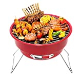 #8: HOKIPO® Portable Charcoal Barbeque BBQ Grill