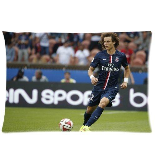David Luiz Custom Rectangle Pillow Cases Pillowcase 20x30 (Two sides)